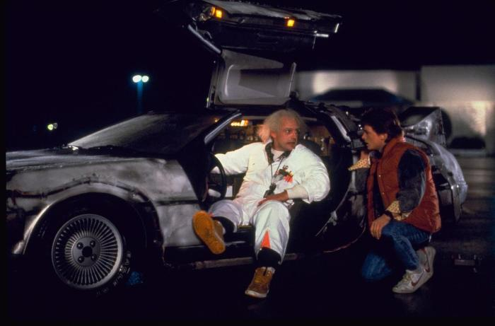 Time-warping, 1.21-gigawatt DeLoreans don't have to look pretty though — Back to the Future